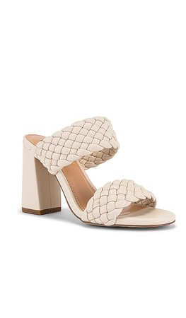 Steve Madden Tangle Quilted Mule in Off White | REVOLVE