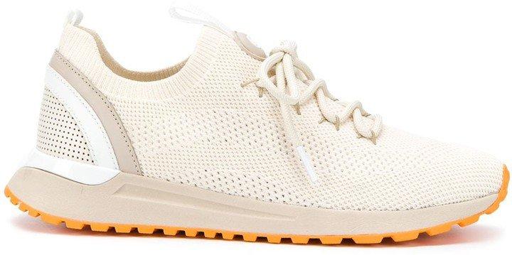 Low-Top Mesh Sneakers