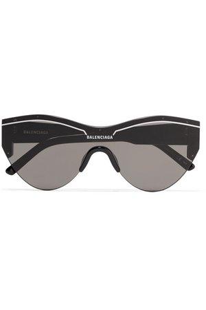Balenciaga | Ski cat-eye acetate sunglasses | NET-A-PORTER.COM