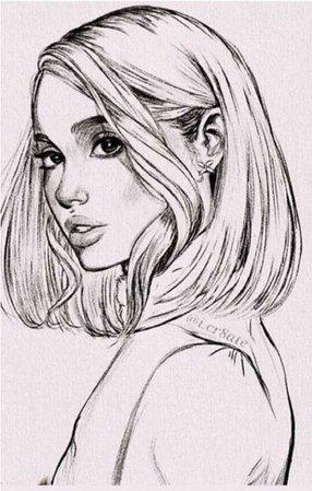 ariana grande short hair