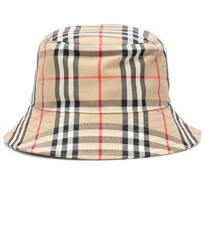 Vintage Check Cotton Bucket Hat | Burberry - Mytheresa