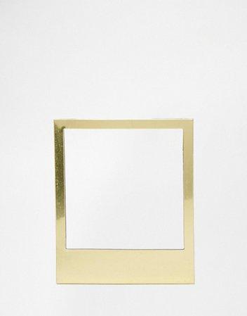Doiy | Doiy Golden Magentic Polaroid Photo Frames