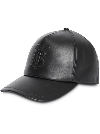 Burberry Monogram Motif Leather Baseball Cap - Farfetch
