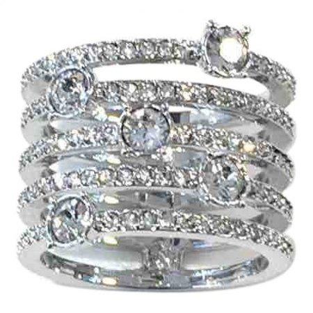 Ring Swarovski Silver in Metal - 5233128