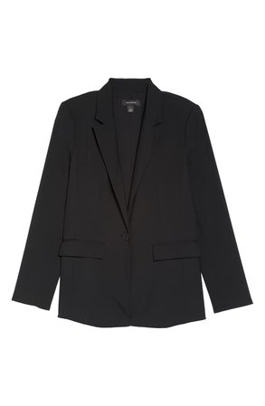 Halogen® One-Button Blazer (Petite) | Nordstrom