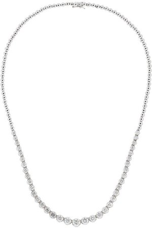 Amrapali | 18-karat white gold diamond necklace | NET-A-PORTER.COM