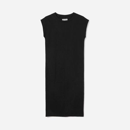 Women's Luxe Cotton Side-Slit Tee Dress | Everlane