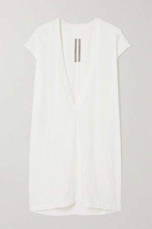 Dylan Cotton-jersey T-shirt - White