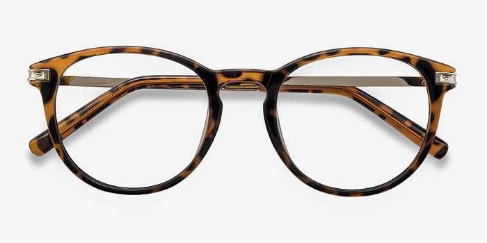 Daphne | Brown/Tortoise | Women Plastic Eyeglasses | EyeBuyDirect