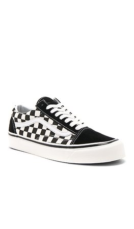 Vans Old Skool in Black & Check | REVOLVE