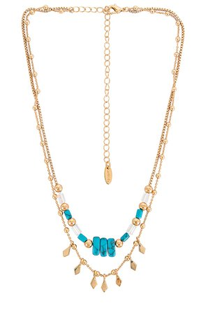 Ettika Charm Layered Necklace in Gold | REVOLVE