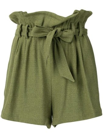 Iro Pleated Shorts - Farfetch