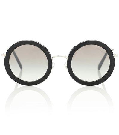 Round Sunglasses - Miu Miu   Mytheresa