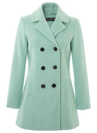 Mint-Green Coat