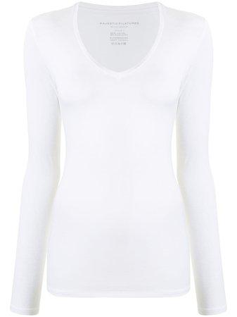 Majestic Filatures long-sleeve T-shirt - Farfetch