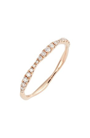 Bony Levy Aviva Diamond Stacking Ring (Nordstrom Exclusive) | Nordstrom