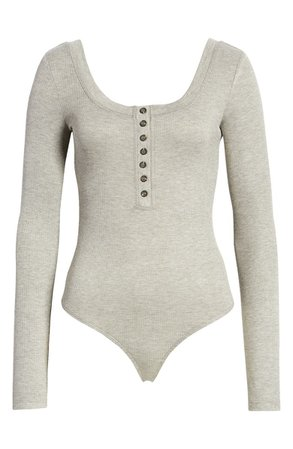 Lulus Simply the Best Henley Bodysuit | Nordstrom