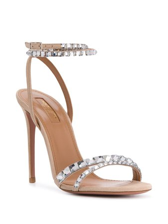 Aquazzura embellished stiletto sandals