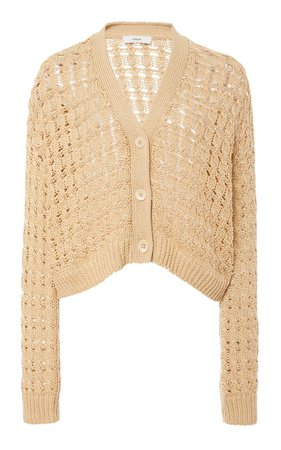 Open-Knit Cotton Cardigan by Vince | Moda Operandi
