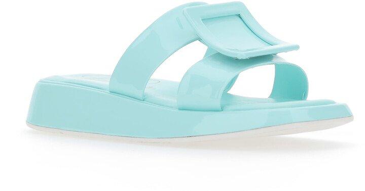 Vivier Buckle Slide Sandal