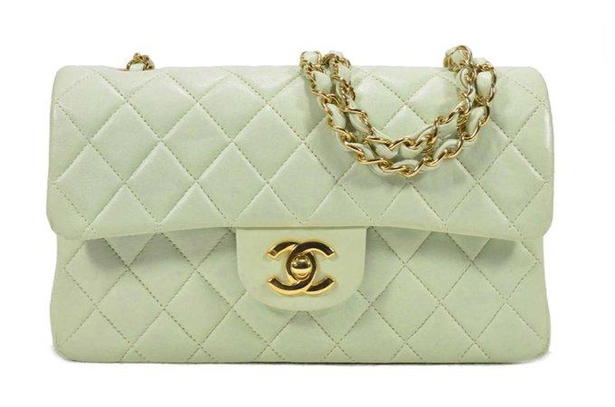 mint Chanel bag