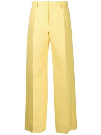 LANVIN, tailored wide-leg trousers