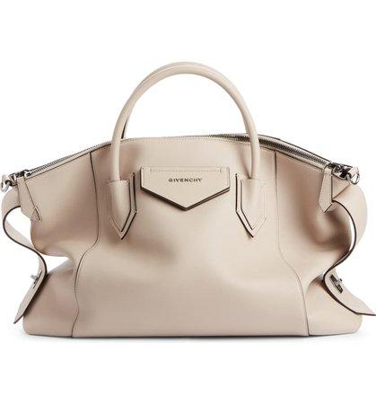 Givenchy Antigona Soft Medium Leather Satchel   Nordstrom