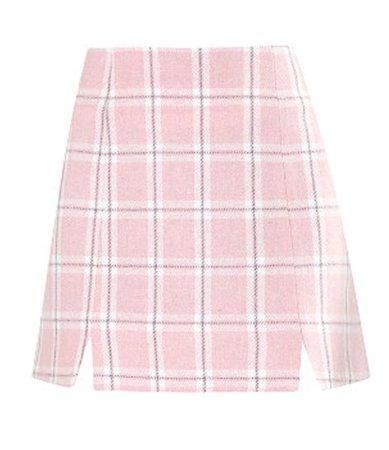 pastel pink skirt