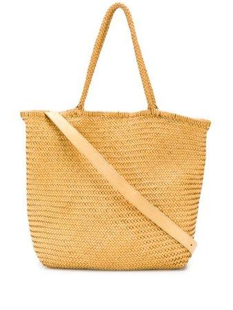 Officine Creative Susan 02 woven bag yellow OCBSUSA02WOVED718 - Farfetch