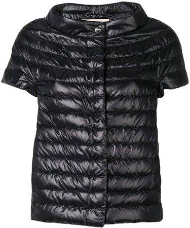 Shortsleeved Padded Jacket