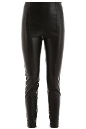 Pinko Faux Leather Trousers