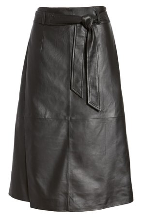 Halogen® Leather Skirt | Nordstrom