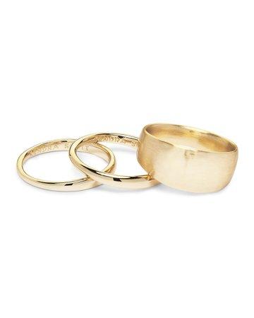 gold ring set – Pesquisa Google