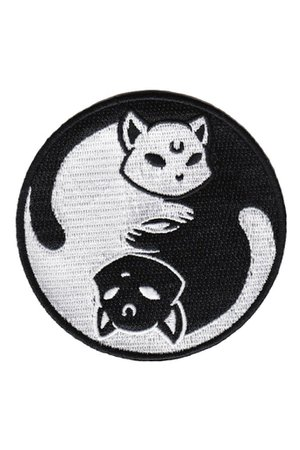 Yin Yang Patch [B] | KILLSTAR - US Store