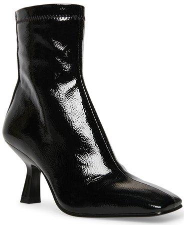 black Steve Madden Women's Joan Kitten-Heel Booties & Reviews - Boots - Shoes - Macy's