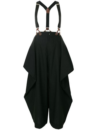 Jean Paul Gaultier Pre-Owned Suspenders Trousers Vintage | Farfetch.com