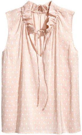 Sleeveless Top - Pink