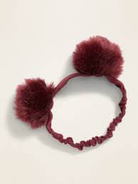 Pom Pom headband - Google Search