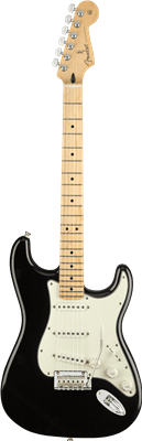Fender Player Stratocaster, Black, Electric Guitar