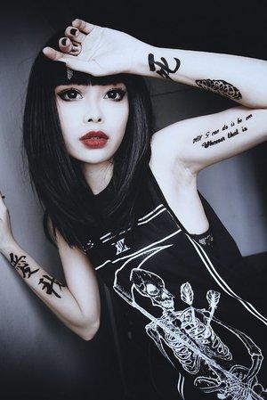 asian goth girl
