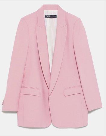 pink Zara blazer