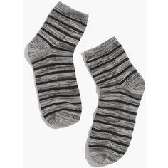 Silver Stripe Socks