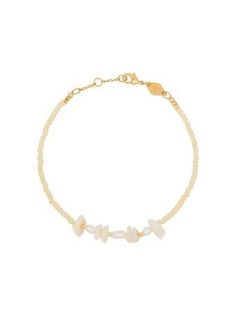 Anni Lu Bracelet Serti De Perles En Or 18ct - Farfetch