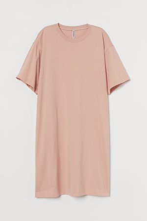 T-shirt Dress - Orange