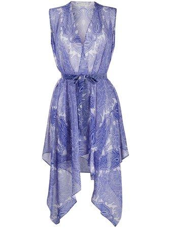 Etro Paisley Print Wrap Blouse - Farfetch