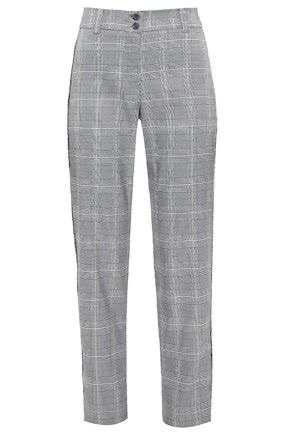Salvatore Ferragamo Checked virgin wool pants