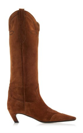 Khaite Dallas Knee High Boots