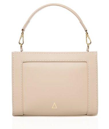 Zeus+Dione Cream Leather Aronia Small Bag < ΓΕΩΜΕΤΡΙΚΕΣ ΤΣΑΝΤΕΣ | aesthet.com