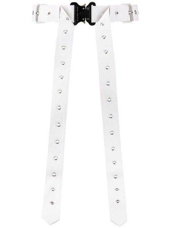 1017 ALYX 9SM eyelet belt - White