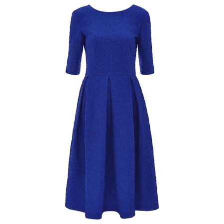 Saloni Martine dress in cobalt blue as worn by Kate Middleton